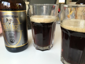 Revenge Ruby Porter from Kellys Mountain Brew