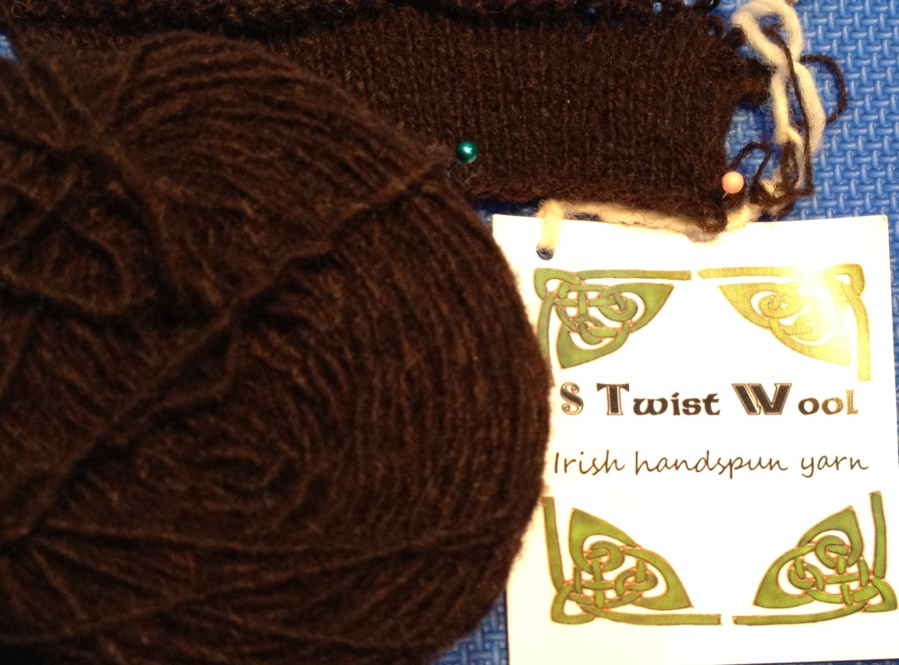 S Twist Wool - Irish Handspun Yarn
